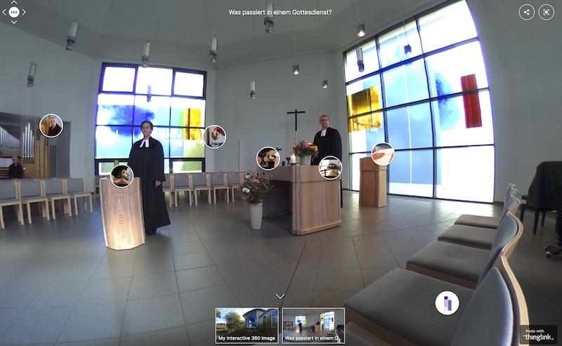360° Panorama der Christuskirche